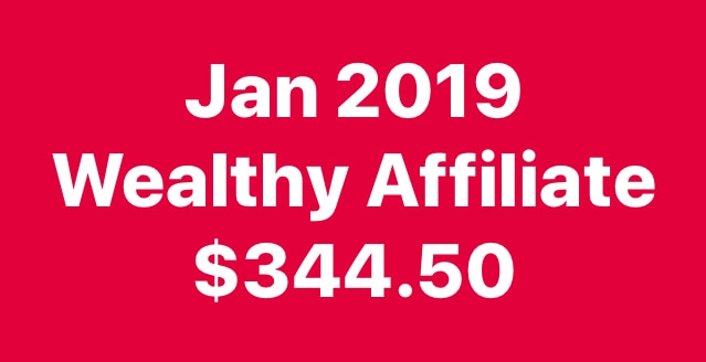 My first wealthy affiliate income