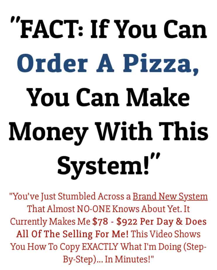 12 Minute Affiliate Review - if you can order a pizza you can make money with 12 minute affiliate