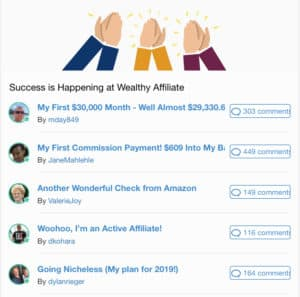How I Make Money Online using Amazon, Clickbank, Google Adsense and Wealthy Affiliate. From Being Made Redundant in 2016 to Earning Online in 2020 - Picture of wealthy affiliate success stories