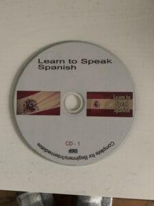 Learn to speak Spanish cd