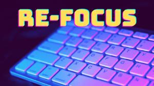 Refocus the blog